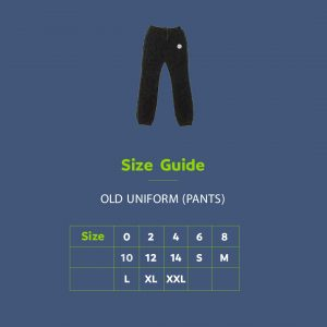 Extra Uniform – Pants – (old uniform)